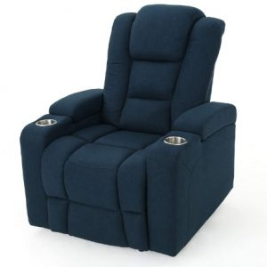 Everette Power Motion Recliner with Cup Holder and Storage