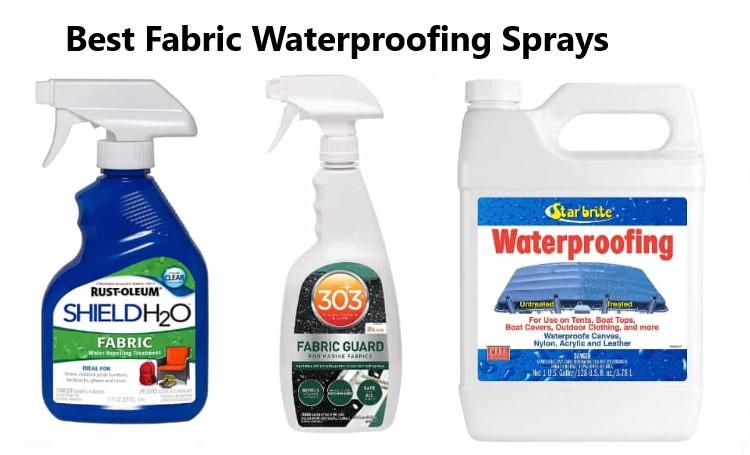 Best Fabric Waterproofing Sprays