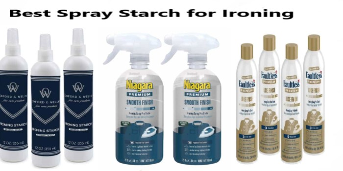 Best Spray Starch for Ironing