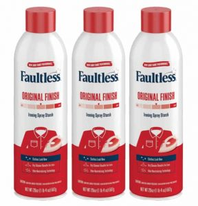 Faultless Original Laundry Spray Starch for Clothes & Fabric