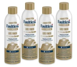 Faultless Premium Luxe Spray Starch for Ironing