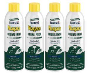 Niagara Liquid Starch Iron Spray for Clothes & Fabrics