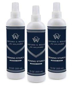 Oxford & Wells Non-Aerosol Premium Ironing Spray Starch