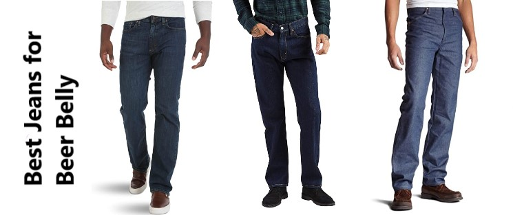 Best Jeans for Beer Belly