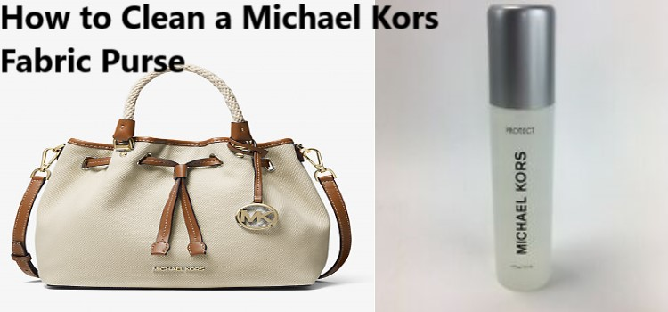 How to Clean a Michael Kors Fabric Purse