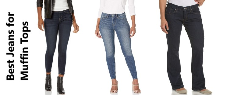 Best Jeans for Muffin Tops