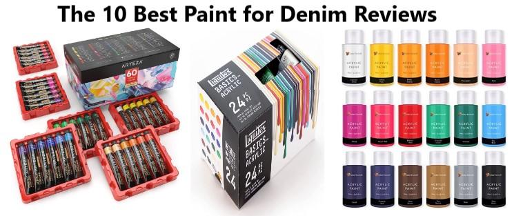 Best Paint for Denim
