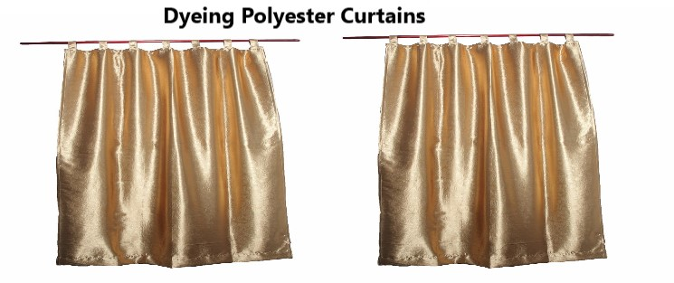 Dyeing Polyester Curtains