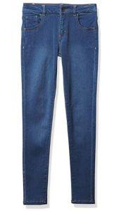 GUESS Girls' Big Stretch Denim Skinny Fit Jeans