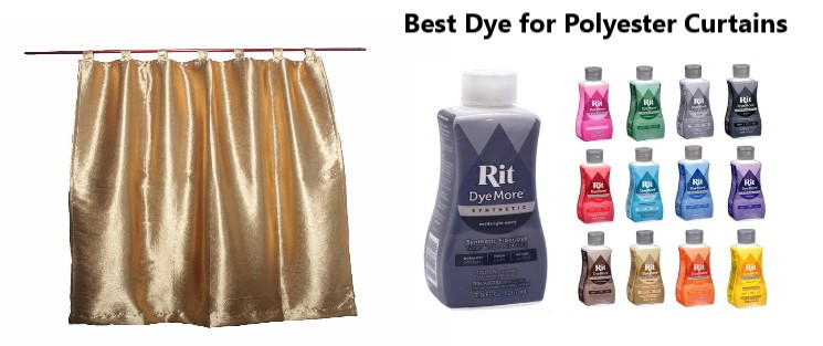 best dye for polyester curtains